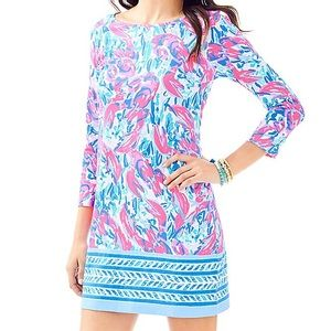b5f53c2bb379 Lilly Pulitzer Dresses - Marlowe dress cosmic coral cracked up